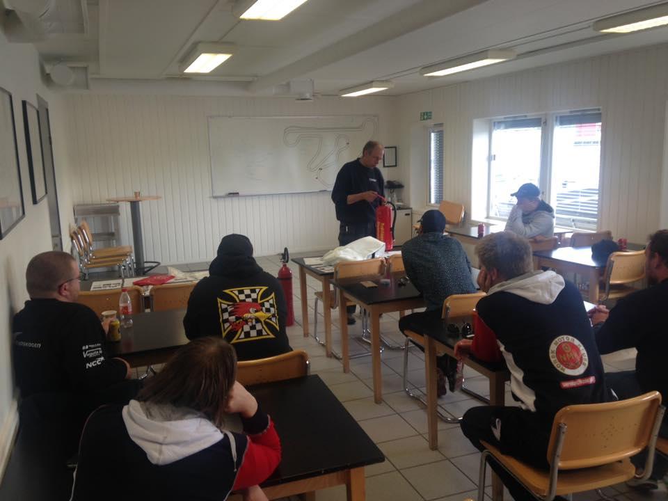 Kurs i brann, Trond Andersen fra brannverntjenesten forteller